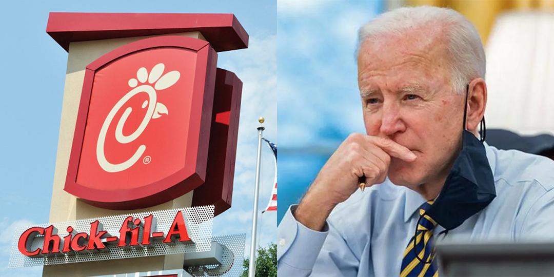 Fox News Blames the Shortage of Chick-fil-A Sauce on... Joe Biden